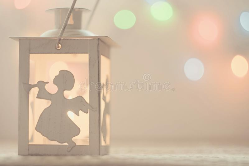 Festive delicate atmospheric background with bokeh, light stock photos