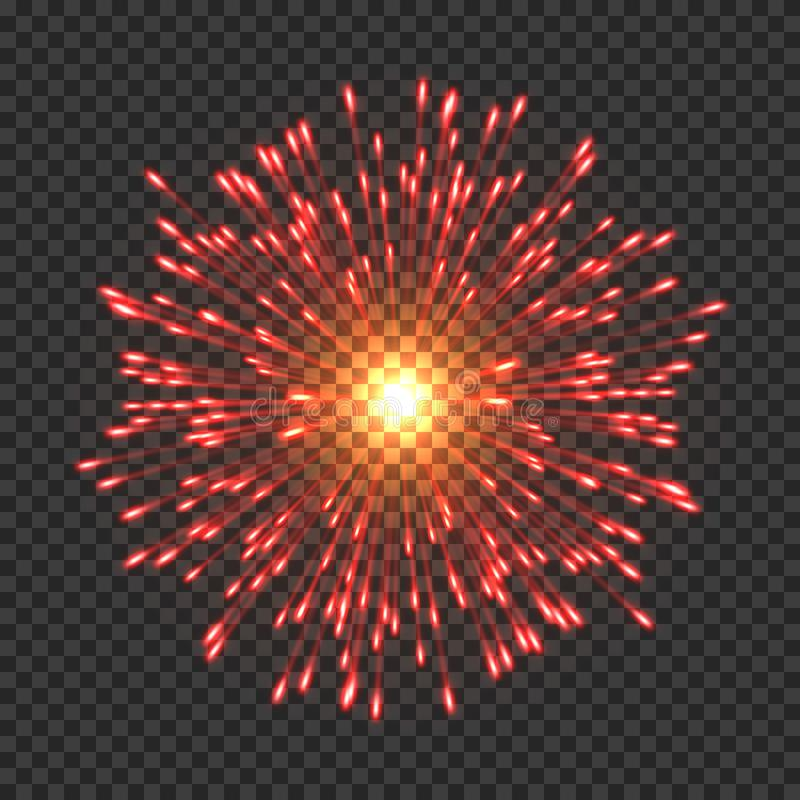 Free Festive Fireworks With Bright Golden Sparks Royalty Free Stock Images - 150969569