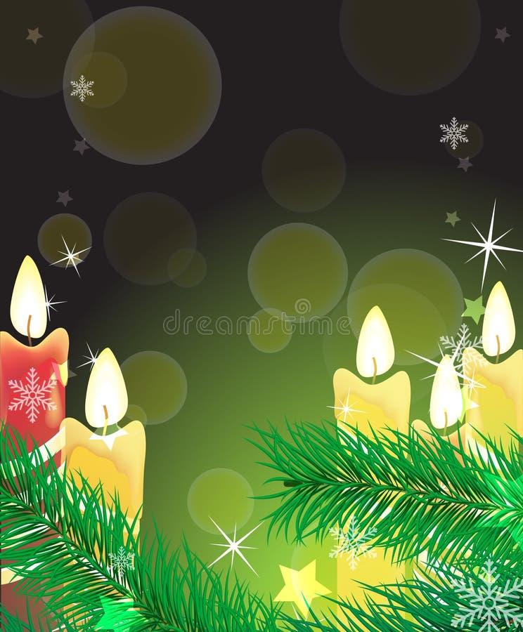 Download Festive lighting stock vector. Image of december, flame - 17400390