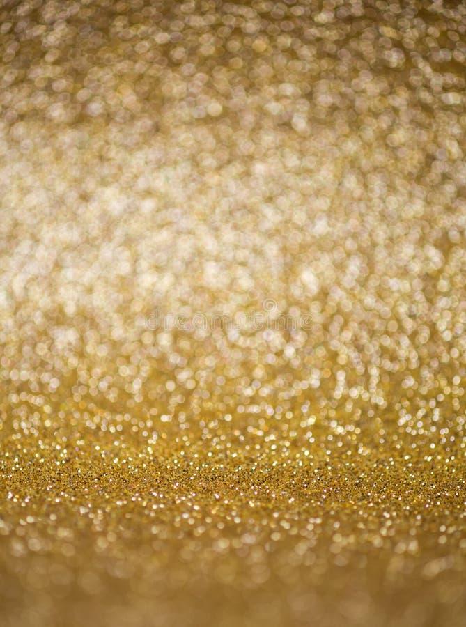 Festive New Year golden background stock photo