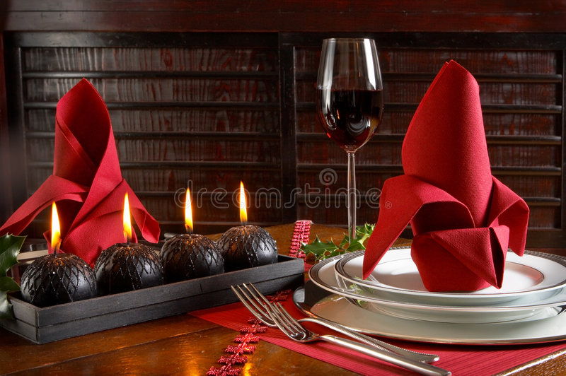 Festive red royalty free stock photos