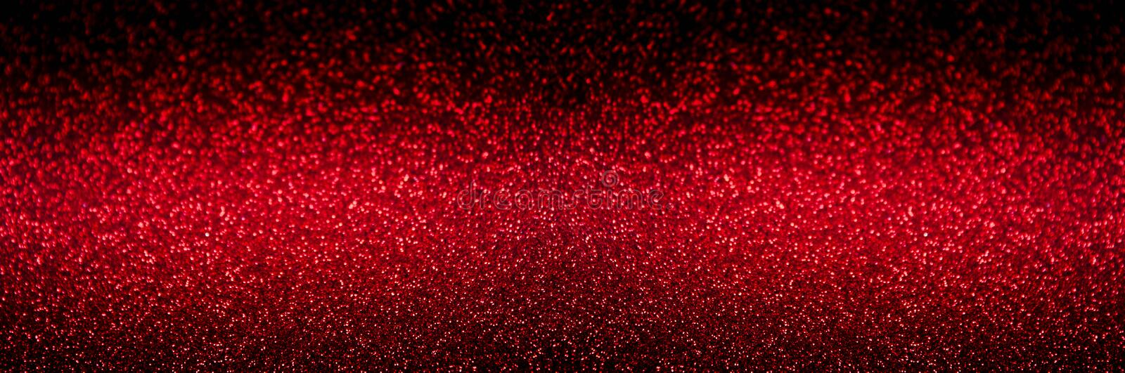 Festive Red abstract blurred glitter background royalty free stock photos
