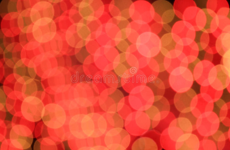 Festive red and orange background with boke effect royalty free stock images