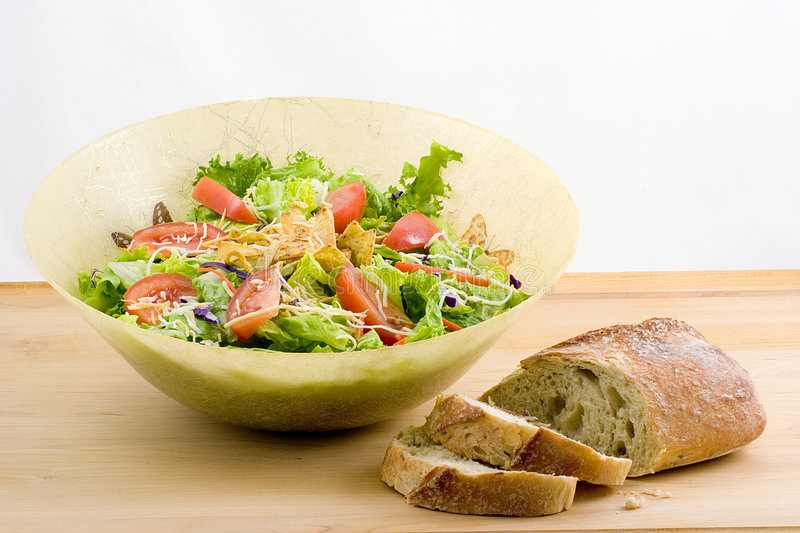 Festive salad royalty free stock images