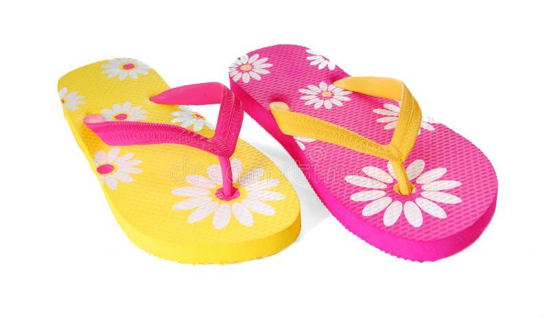Festive Sandals stock images