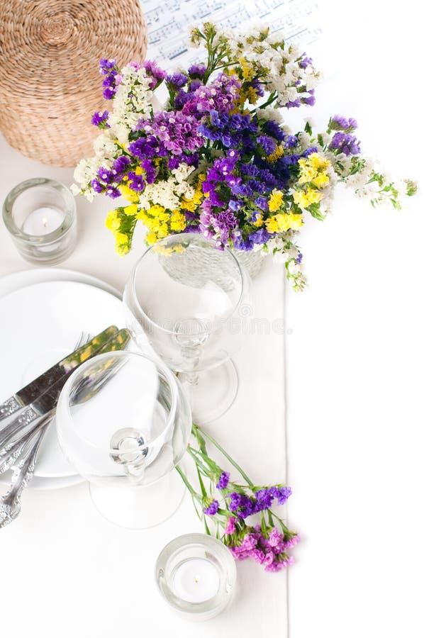 Download Festive table setting stock photo. Image of festive, arrangement - 25431588