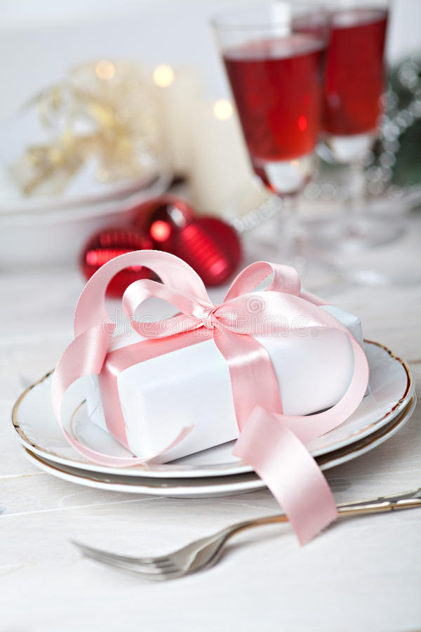 Download Festive table setting stock image. Image of ribbon, setting - 27922981