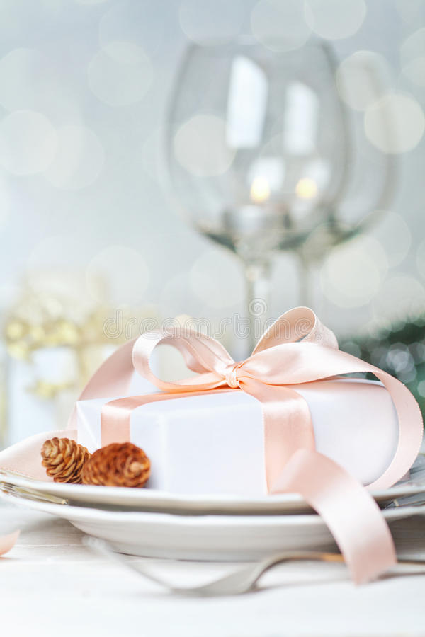 Download Festive table setting stock photo. Image of holiday, drink - 32921546
