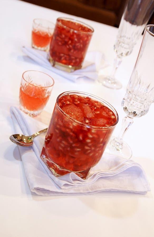 Download Festive Winter Dessert Table Stock Photo - Image: 12117874