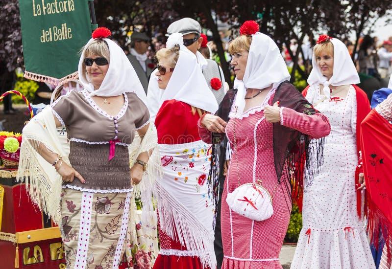 Festividad del ` de San Isidro del `, patrón de Madrid, el 15 de mayo de 2017, Madrid, España fotos de archivo libres de regalías