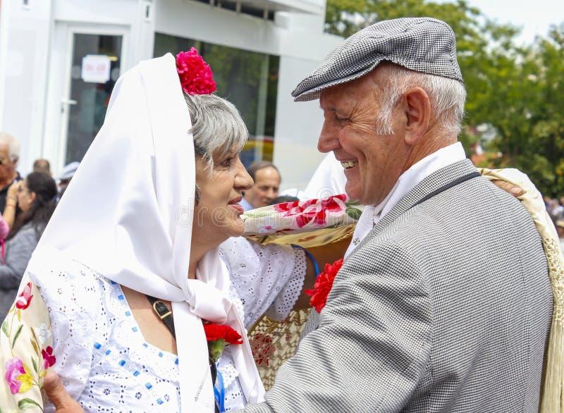 Festividad del ` de San Isidro del `, patrón de Madrid, el 15 de mayo de 2017, Madrid, España imágenes de archivo libres de regalías