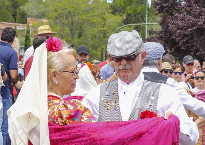 Festividad del ` de San Isidro del `, patrón de Madrid, el 15 de mayo de 2017, Madrid, España imagenes de archivo