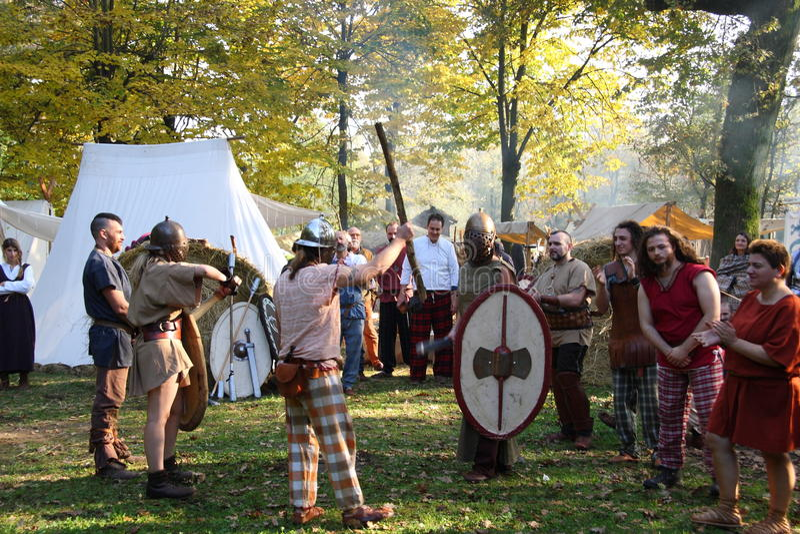 Festividades de Samhain foto de archivo