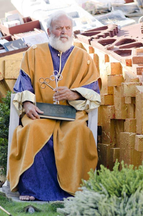 Festività religiosa in Italia fotografia stock libera da diritti