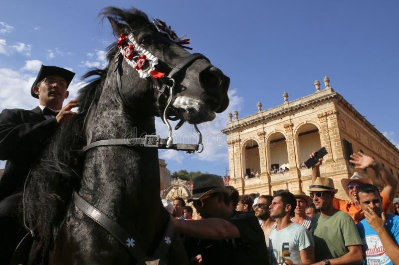 Festivité 029 de cheval de St John image stock