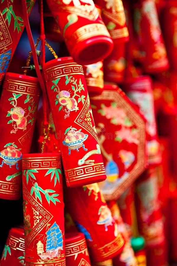 Festivités chinoises d'an neuf images libres de droits