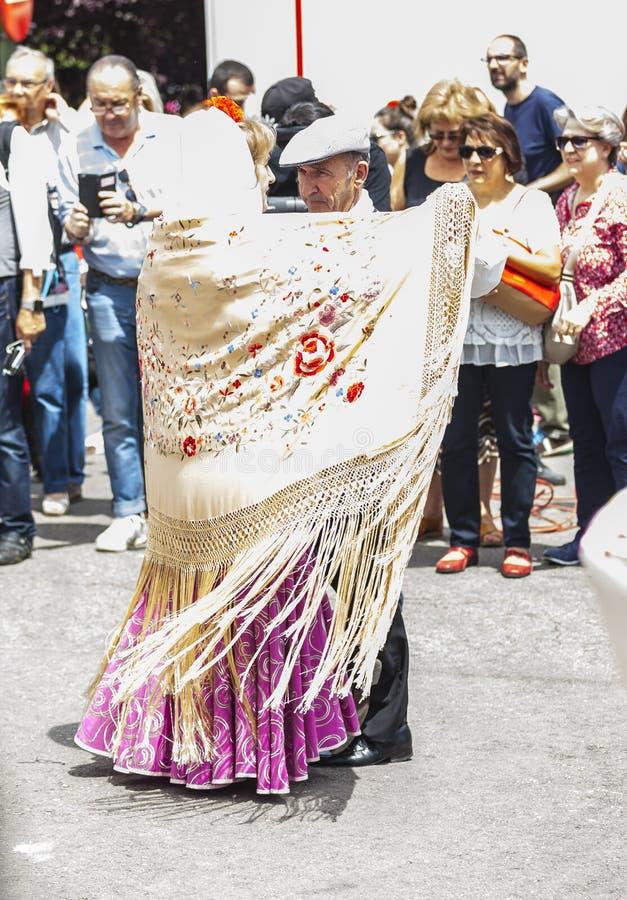 Festivity of `San Isidro`, patron of Madrid, May 15, 2017, Madrid, Spain royalty free stock images