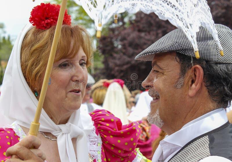 Festivity of `San Isidro`, patron of Madrid, May 15, 2017, Madrid, Spain royalty free stock photography