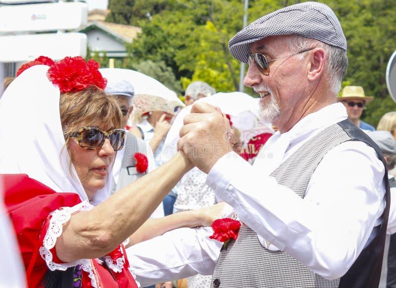 Festivity of `San Isidro`, patron of Madrid, May 15, 2017, Madrid, Spain royalty free stock image