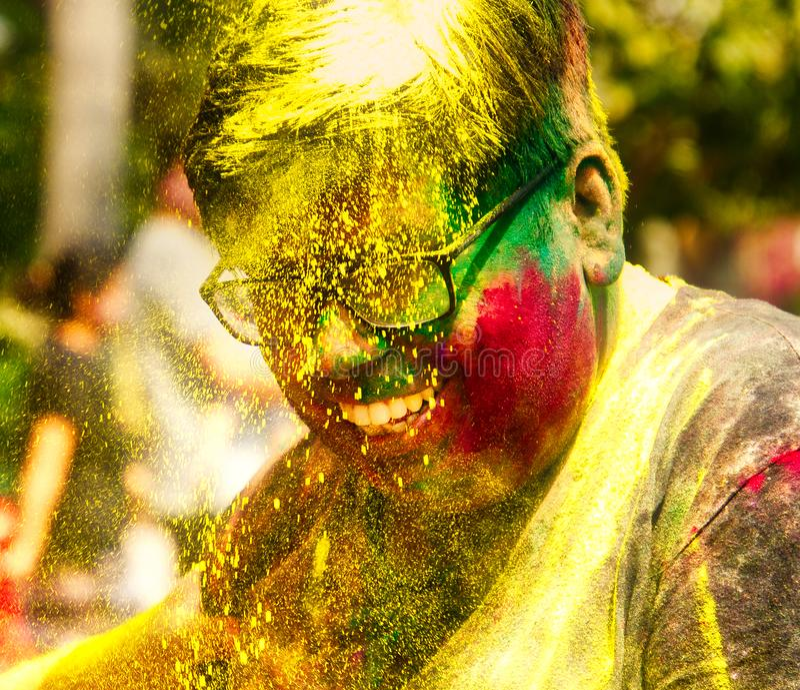 Festiwal Colour obrazy stock