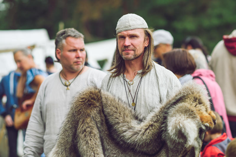 Festiwal Eksperymentalna archeologia zdjęcie royalty free