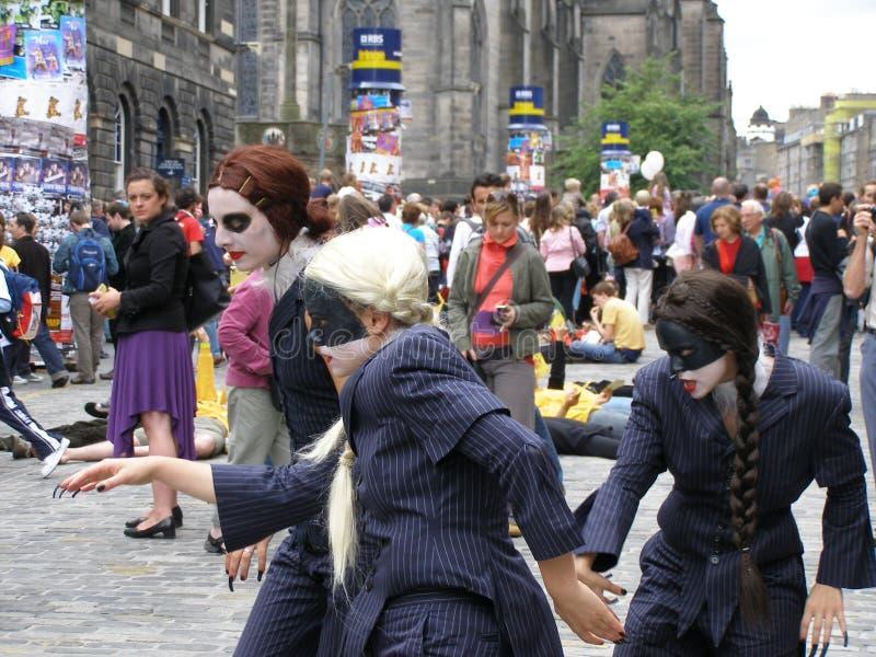 festiwal fringe zdjęcia royalty free
