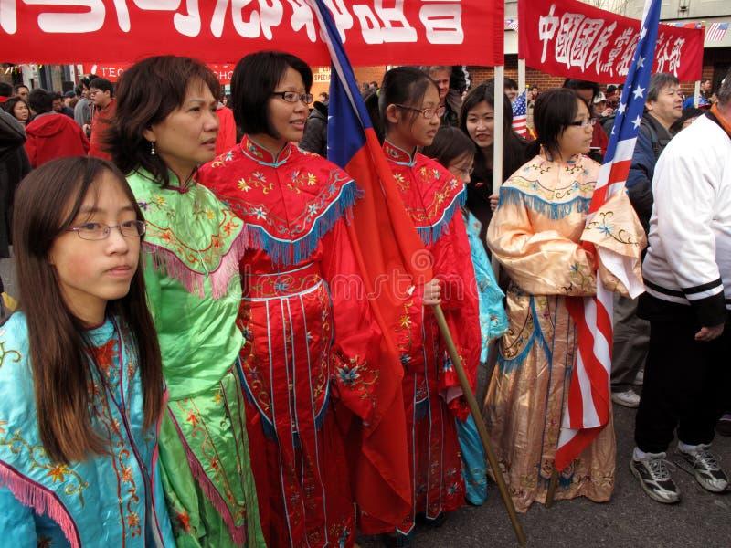 festiwal kobieta grupowa wielka zdjęcie royalty free