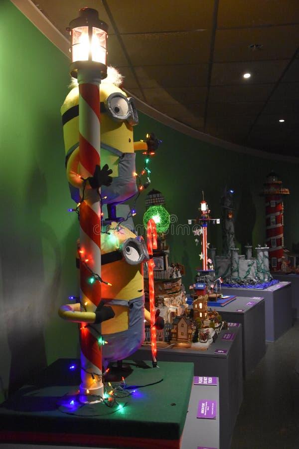 Festiwal latarnia morska konkurs przy Morskim akwarium w Norwalk, Connecticut obrazy stock