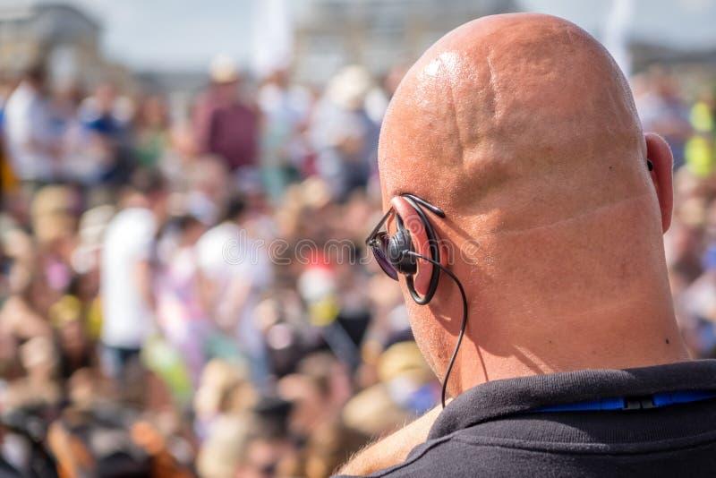 Festiwal ochrona fotografia royalty free