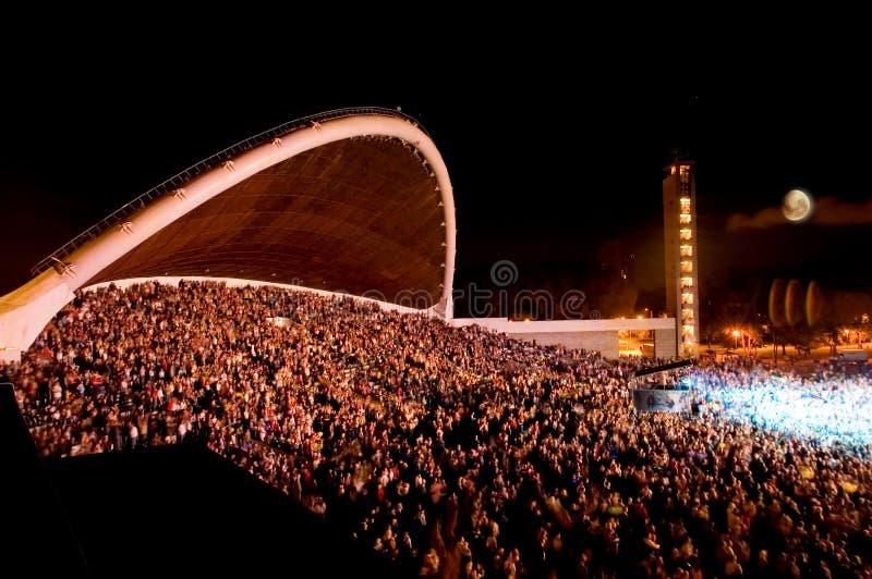 festiwal piosenki Tallin szlaban zdjęcia stock