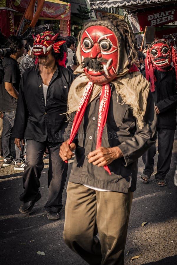 Festiwal w Jyogakarta zdjęcie royalty free