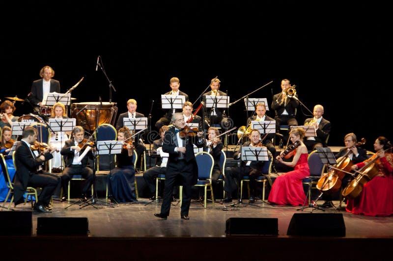 festiwalu guth orkiestry Peter strauss Vienna obrazy stock