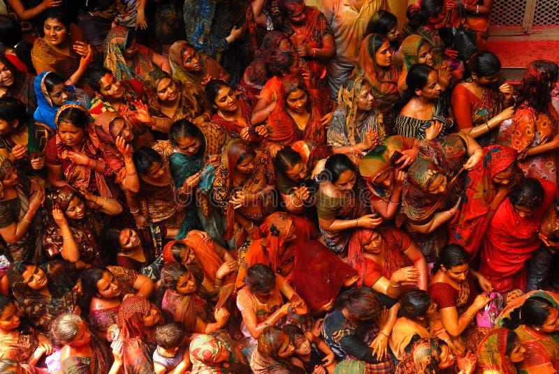 festiwalu holi ind fotografia stock