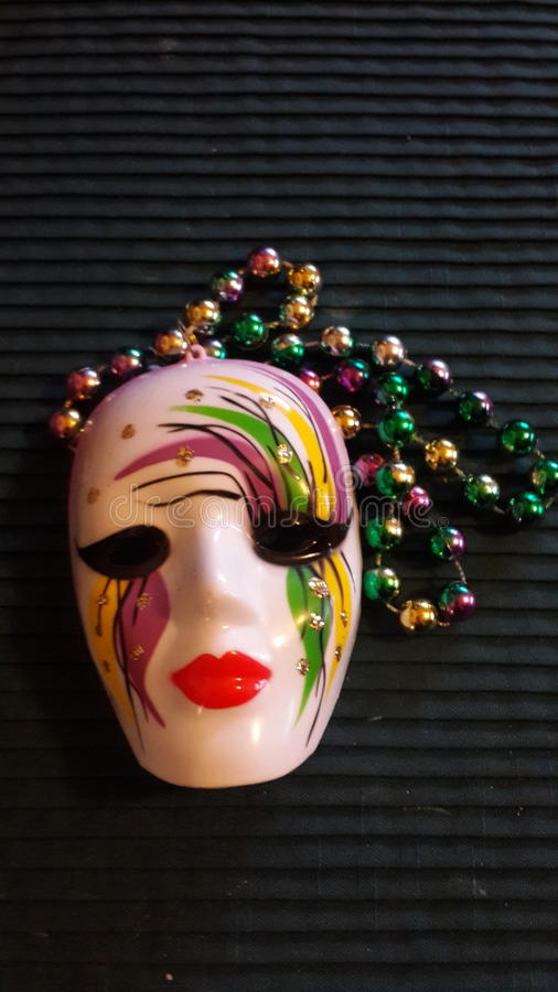 festiwalu mardigras Louisiana parady prezent zdjęcia royalty free