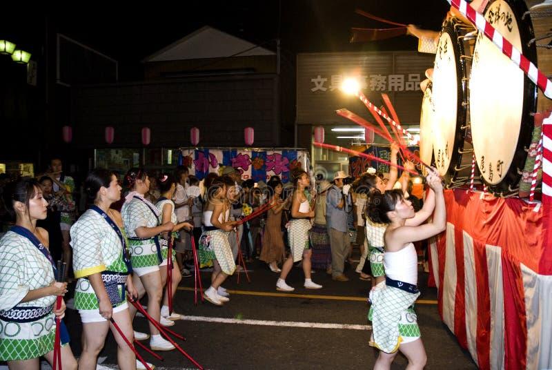 festiwalu nebuta fotografia stock