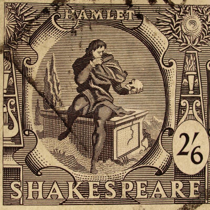 festiwalu Shakespeare znaczek ilustracja wektor
