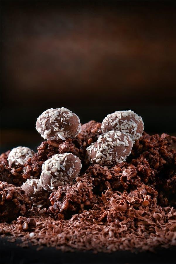 Festliche Liquer-Schokoladen II stockfotografie