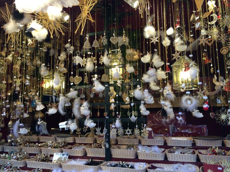 Festliche Zeitschönheit der Weihnachtsdekoration des Winters stockbild