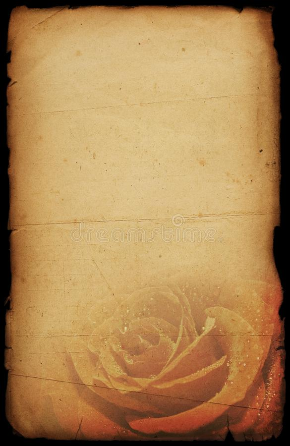 Festlicher altmodischer Hintergrund des Valentinsgrußes stockbilder