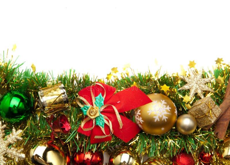 Festlicher decoration.card Hintergrund des Weihnachten lizenzfreie stockfotografie