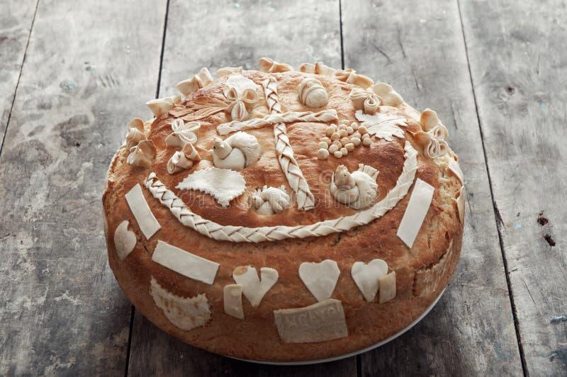 Festliches Brot lizenzfreies stockbild