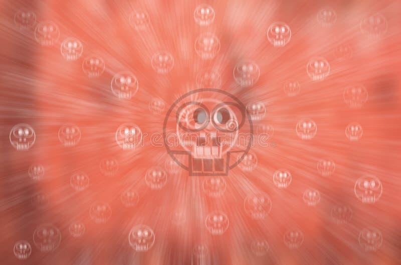 Festlig abstrakt bakgrund för allhelgonaafton med bokeh vektor illustrationer
