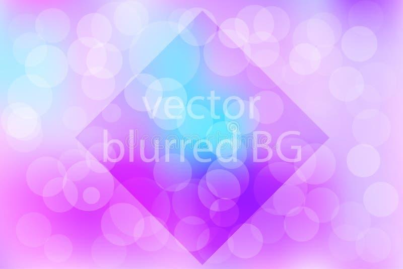 Festlig bakgrund med defocused ljus - vektor eps10 arkivfoto