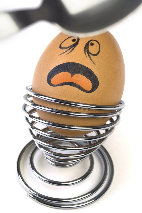 Festligt ägg arkivbilder