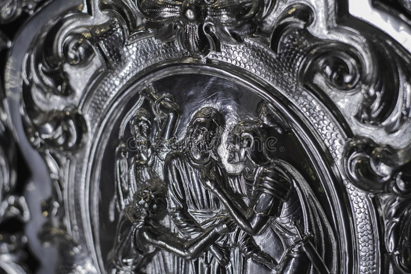 Festnahme von Jesus lizenzfreies stockbild