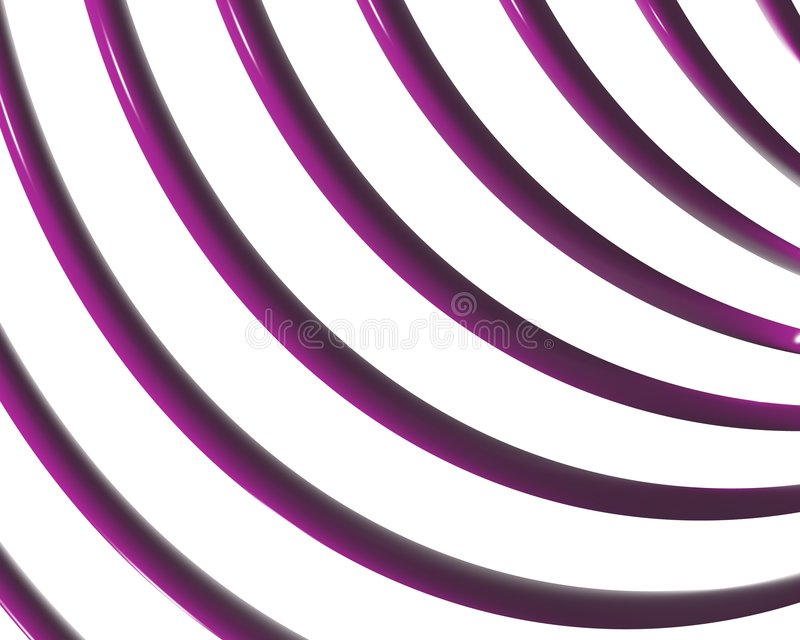 Feston optique 03 de courbes de spirale d'art illustration libre de droits