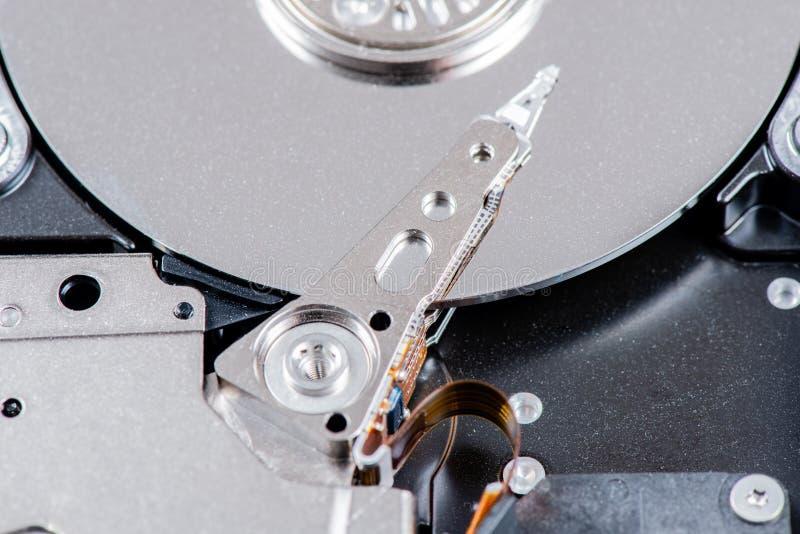 Festplatte Dämpfungsreglers gelesen und Schreibkopf lizenzfreies stockfoto