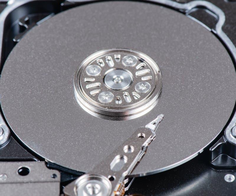 Festplatte Dämpfungsreglers gelesen und Schreibkopf lizenzfreie stockfotos