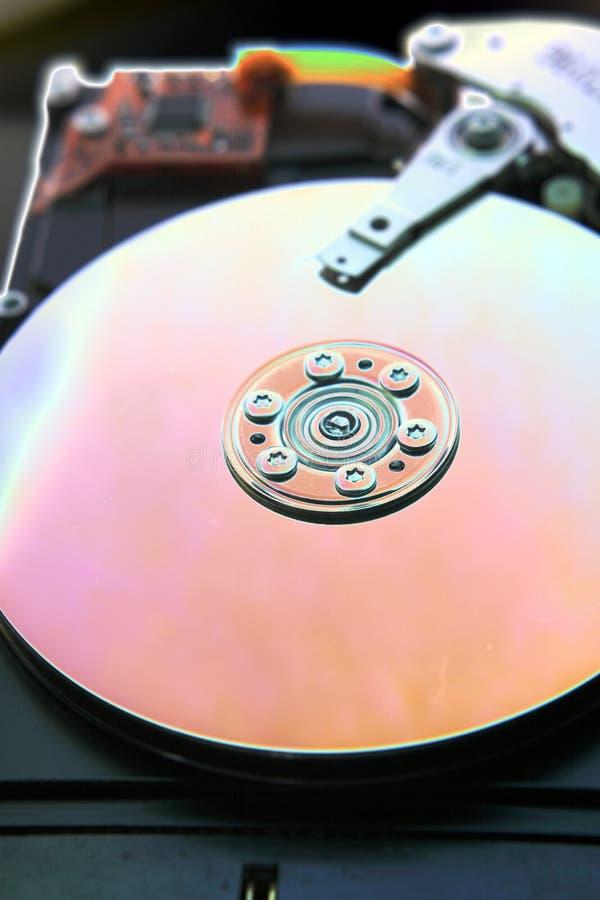 Festplattenlaufwerk des Computers stockfoto
