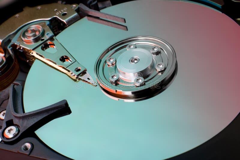 Festplattenlaufwerk des Computers lizenzfreie stockbilder
